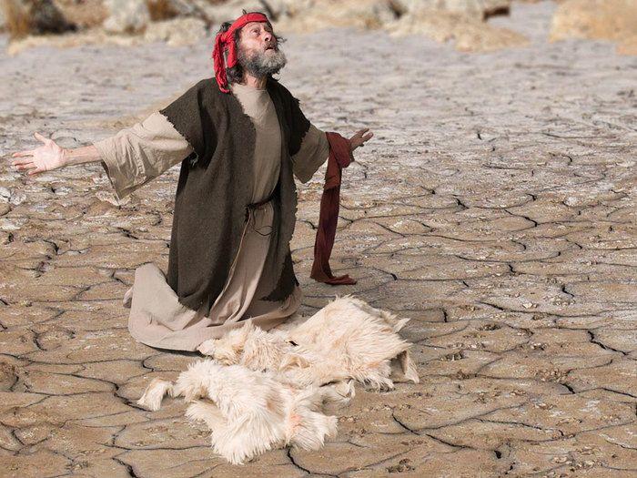 Elijah Prays For Rain Preschool Craft