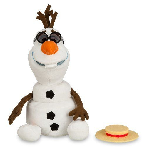 65c7a91885c Disney Store Animated Talking Speaking Singing Olaf the Snowman Plush  Stuffed Toy Doll