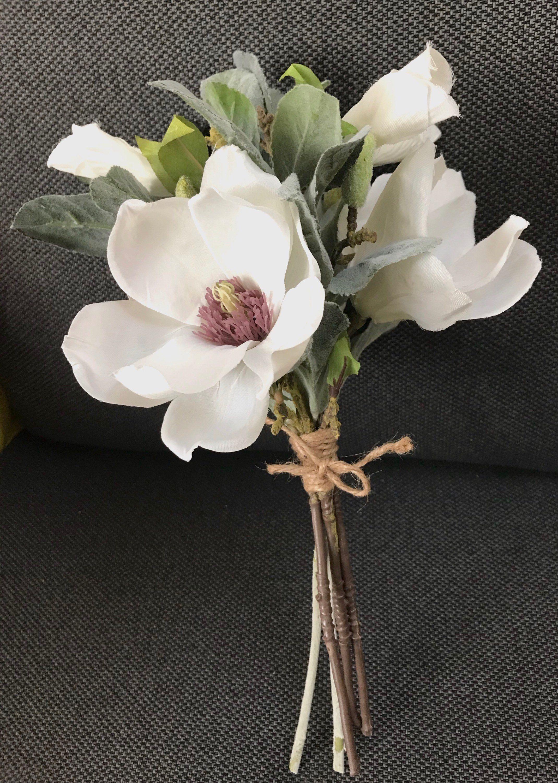 Bridesmaid Bouquet Wedding Magnolia Bouquet Wedding Bridesmaids