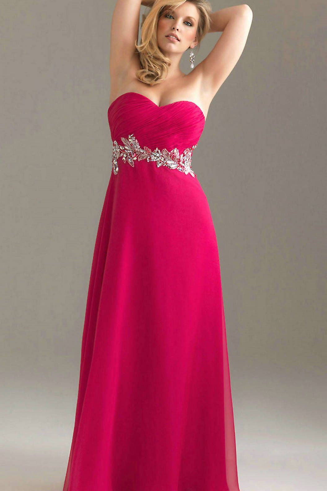 Fuchsia plus size dress gallery dresses design ideas full length strapless sequince embelished ruched bodice fuchsia full length strapless sequince embelished ruched bodice fuchsia ombrellifo Gallery