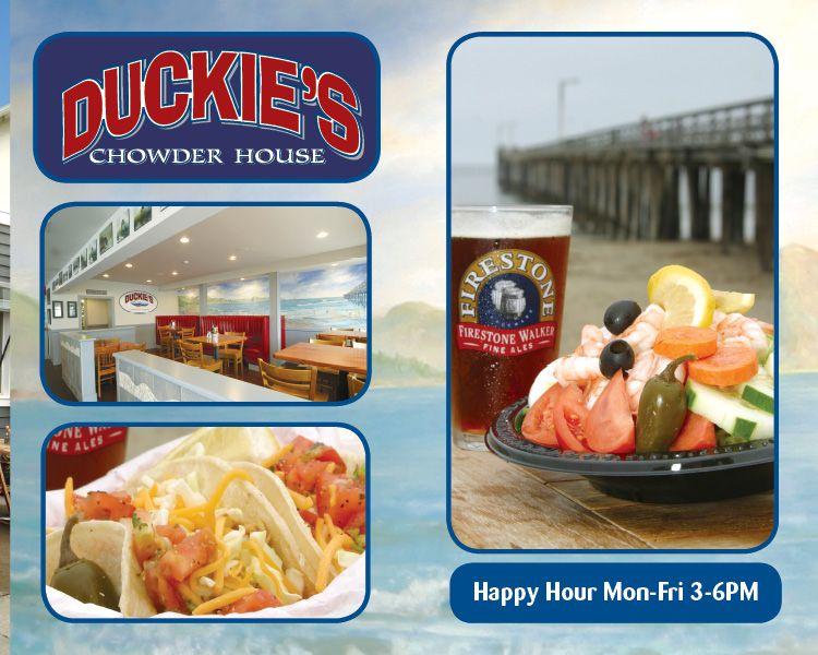 Duckies Chowder House Cayucos Seafood Restaurants California
