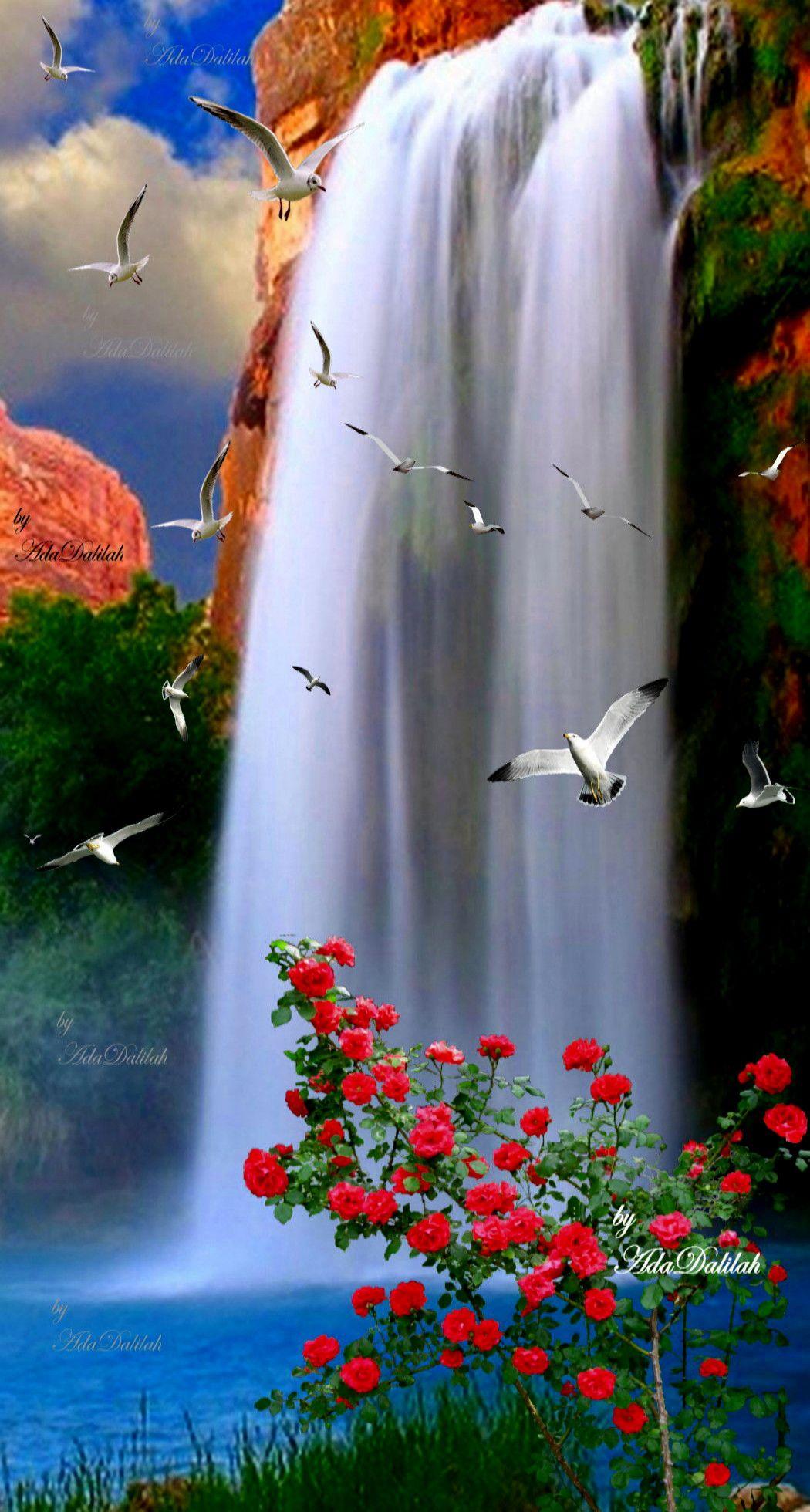 Cascadas De Havasupai Arizona Beautiful Landscape Wallpaper Beautiful Photography Nature Beautiful Nature Wallpaper