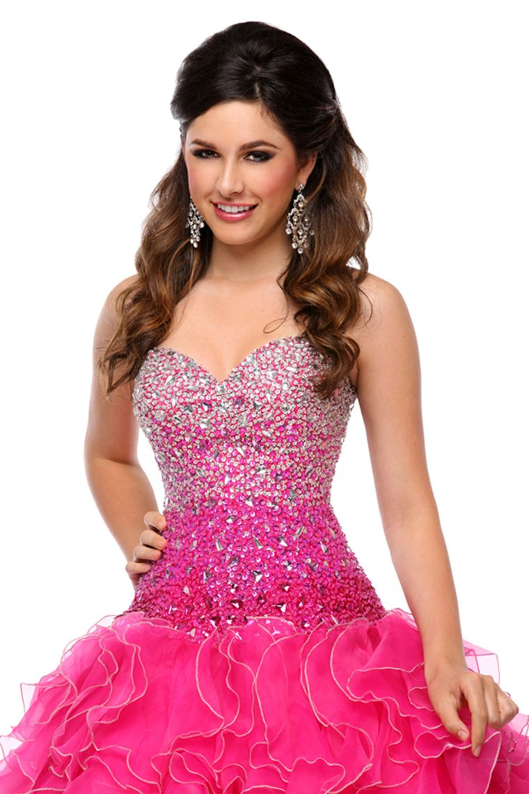 2015 Sweetheart Quinceanera Dresses Fully Beaded Bodice Ball Gown ...