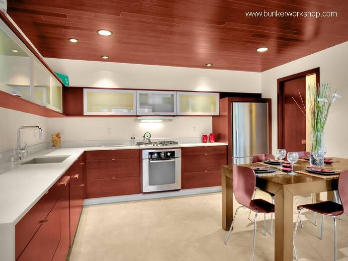 cocina muebles madera