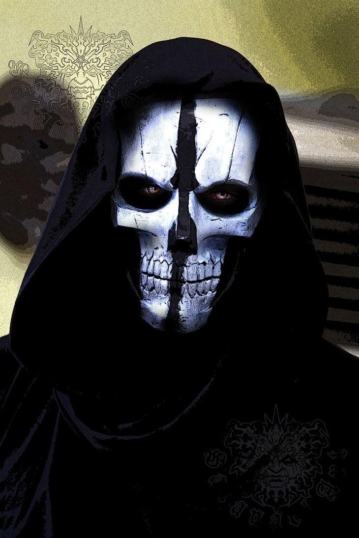 Fiberglass mask: Call of Duty: GHOSTS | The Dark Side | Pinterest ...