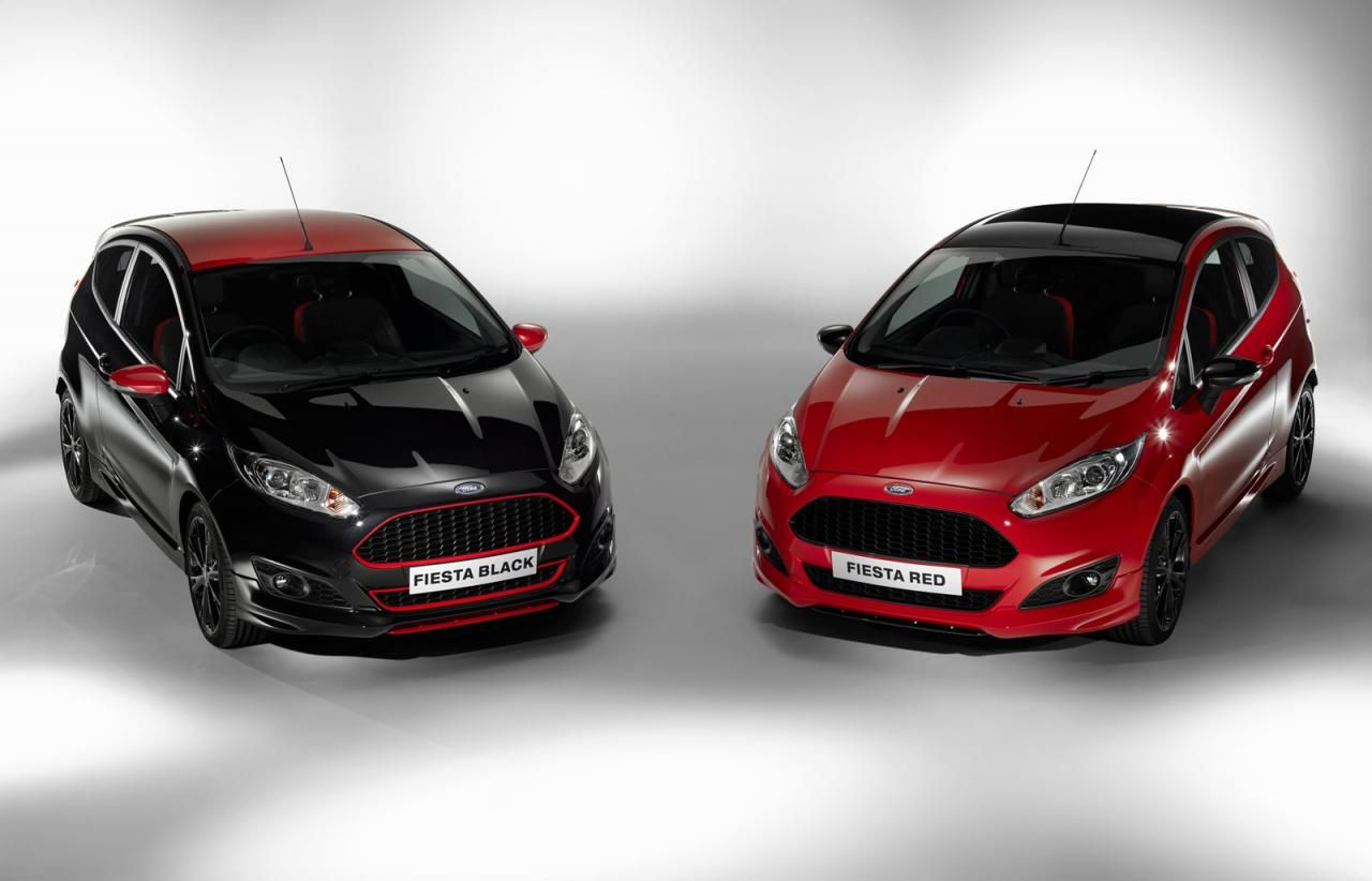 Ford Launches Fiesta Red And Black Editions With 140 Ps 1 0 Liter
