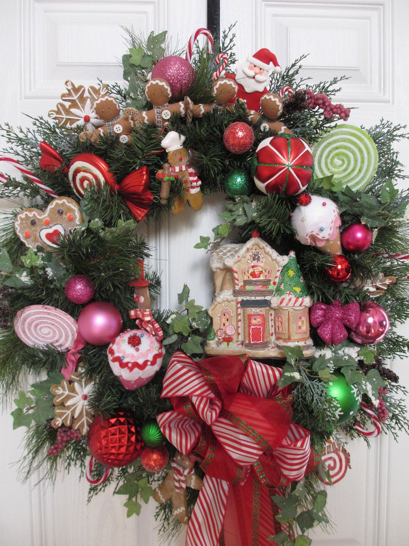 Christmas Decor wreath.