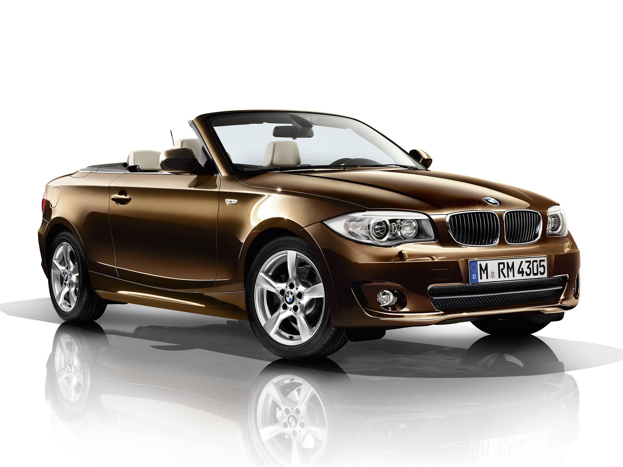 2012 BMW 1 Series Convertible brown car  BMW  Pinterest  BMW