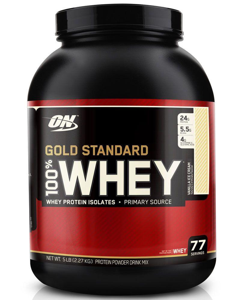 Optimum Nutrition Gold Standard 100 Whey Vanilla Ice Cream 5 Lbs Optimum Nutrition Whey Gold Standard Whey Optimum Nutrition Gold Standard