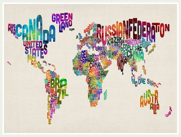 9 typographic text last but certainly not least this artistic typographic text last but certainly not least this artistic creation depicts each of world map gumiabroncs Choice Image
