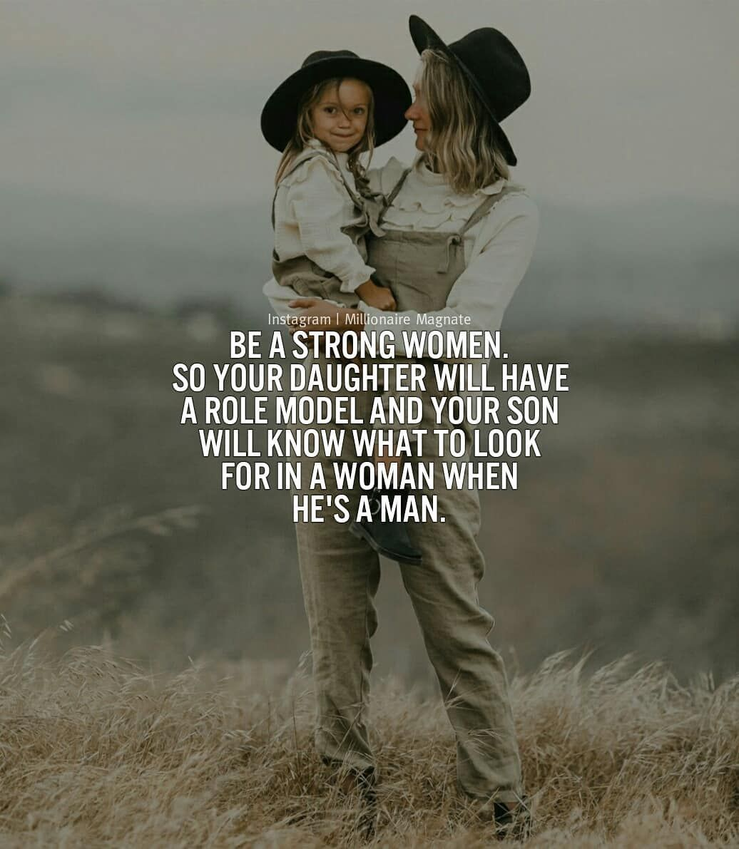 I like being a strong independent woman, and to be honest