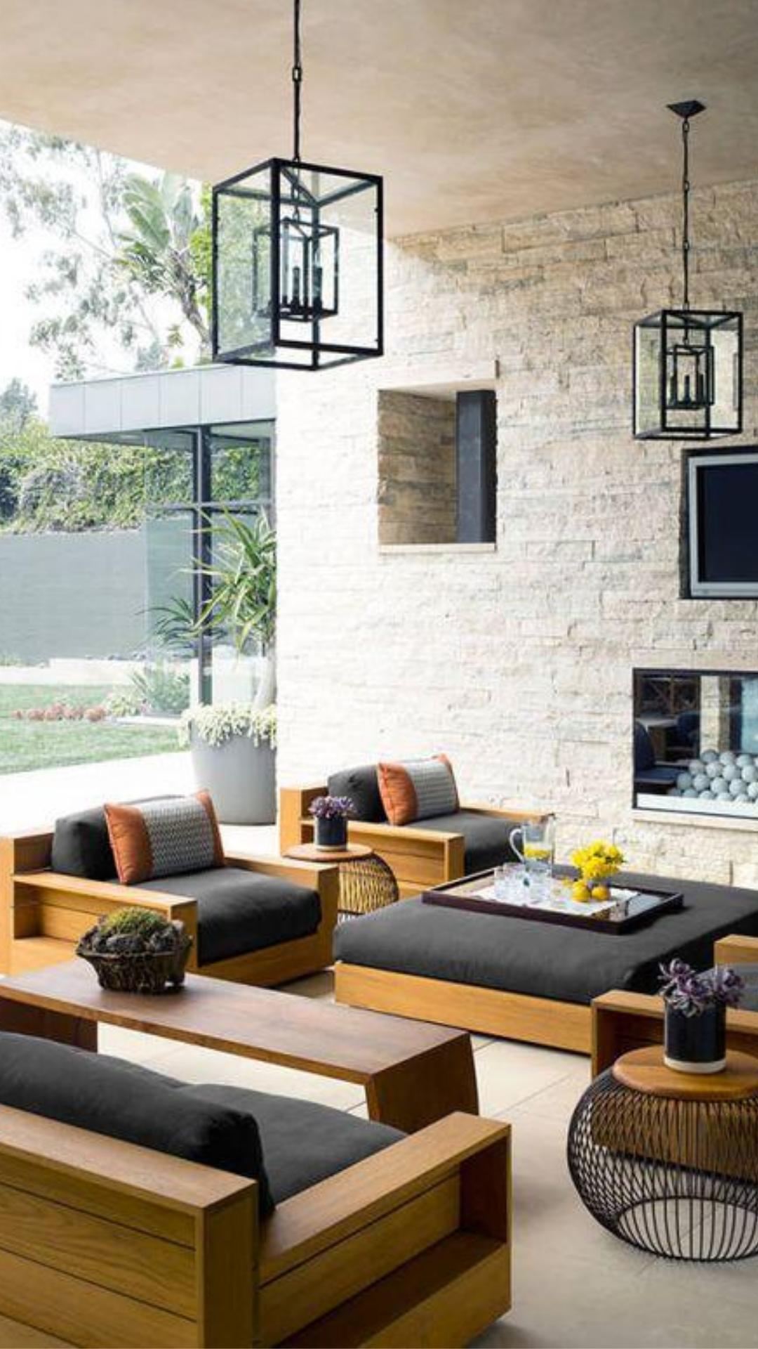 Wood Sofa Set Furniture Design Wood Settee Living Room Decor Sofa Ideas Home Decor Inspo In 2020 Patio Furniture Layout Patio Interior Patio Furnishings #wooden #sofas #for #living #room