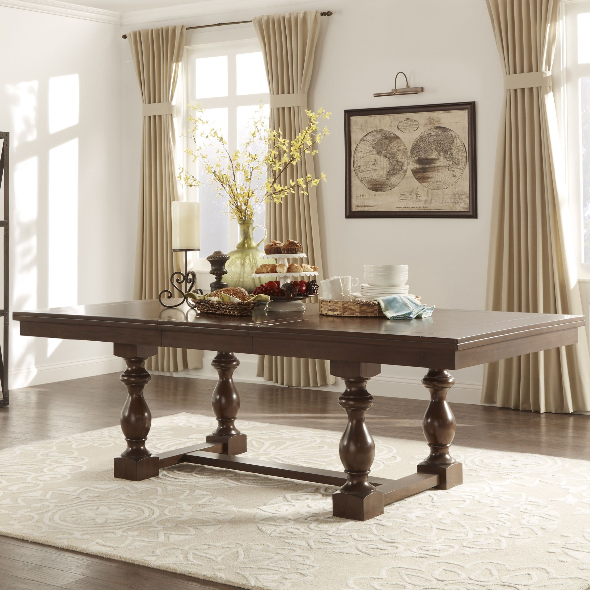 Flatiron Baluster Extending Dining Table by iNSPIRE Q Classic by ...