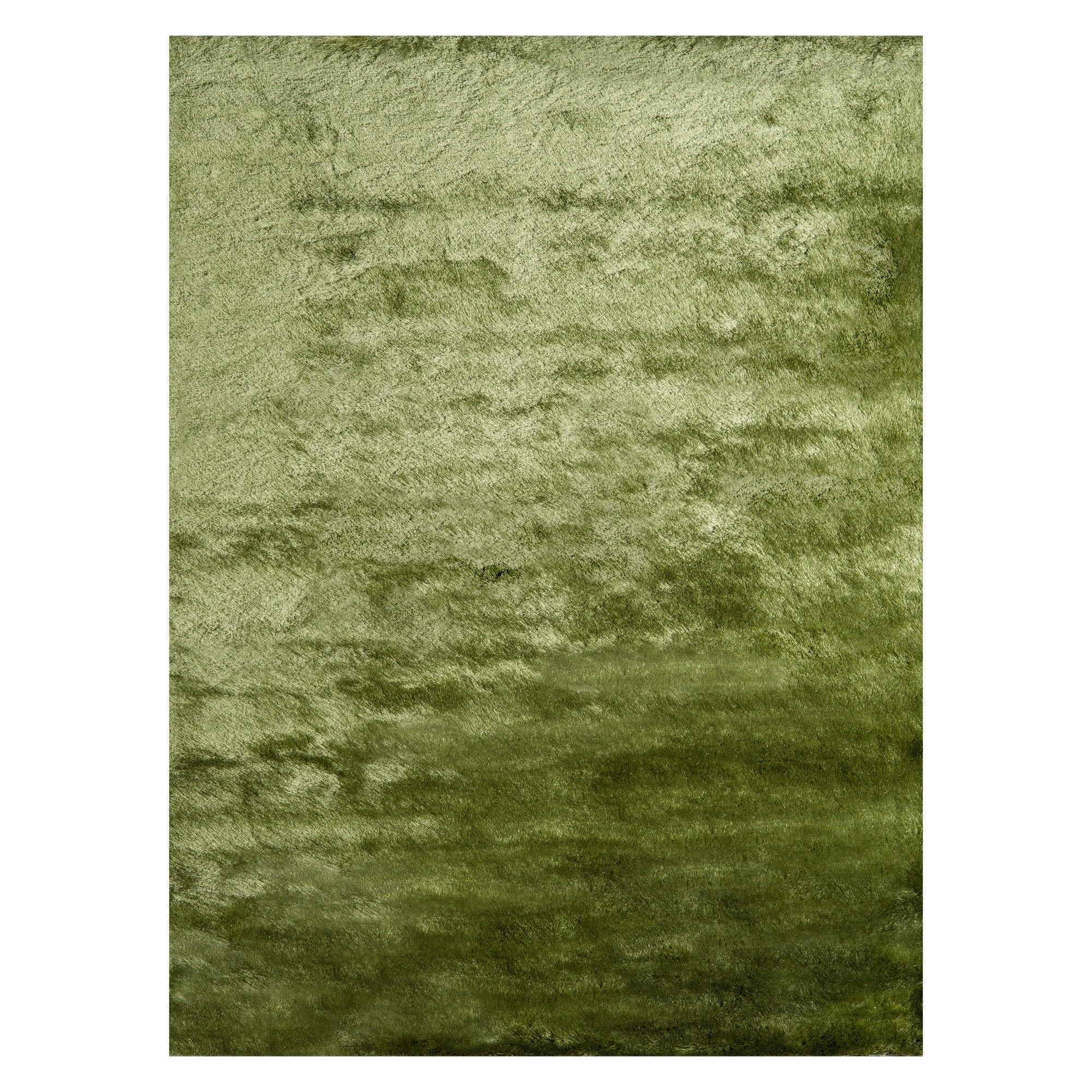 3 X5 Solid Tufted Accent Rug Apple Green Momeni Area Rug