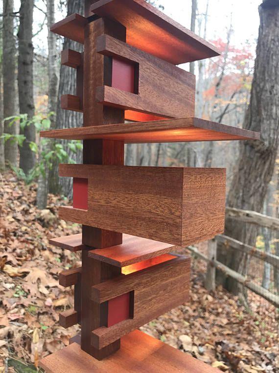 Frank Lloyd Wright Replica Taliesin Table Lamp Wright Furniture Plans Wood Lamps Frank Lloyd Wright