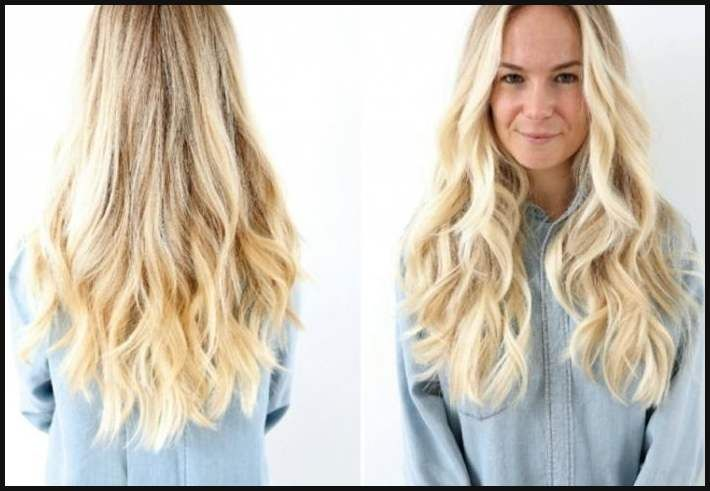 Frisuren Lange Haare Blond – Stilvolle Frisuren Beliebt In