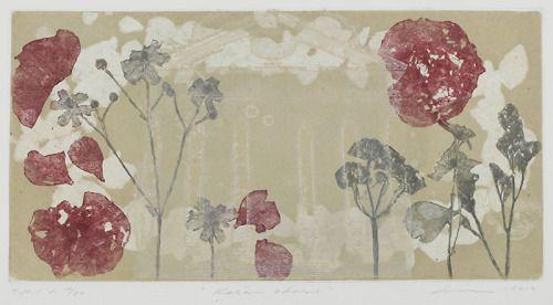 Virve Lilja(Finnish, b.1968) Kesän odotus etsaus ja akvatinta 39 × 23 cm via