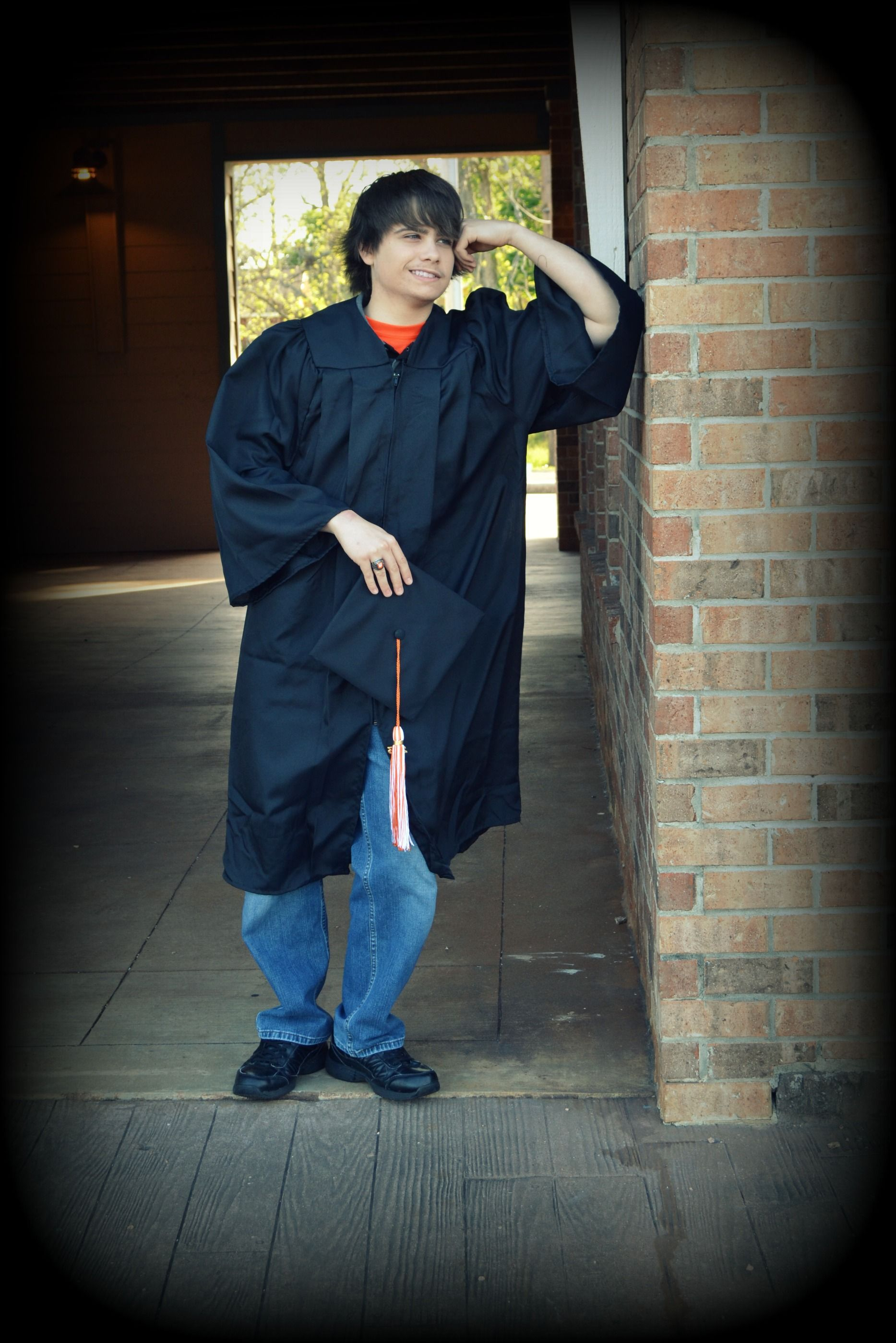 graduation #senior #ring #highschool #High school #guy #cap and gown ...