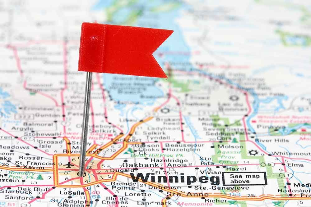 Experiencing winnipeg manitoba for the first time
