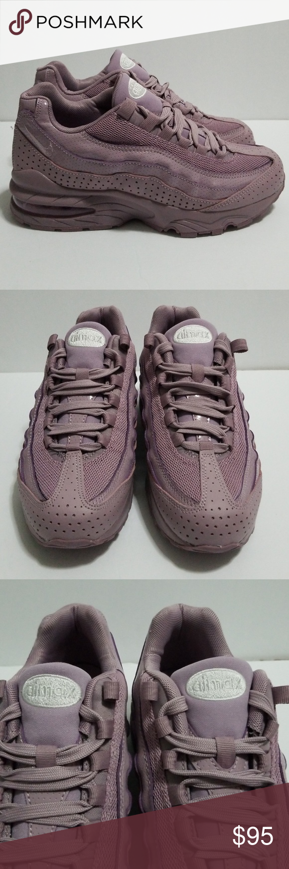 479a555d15 Nike Air Max 95 SE Size 5Y (GS) New AJ1899-600 New Without Box Style AJ1899-600  Nike Air Max 95 SE Size 5Y (GS) Womens Size 6.5 Authentic Nike Shoes ...