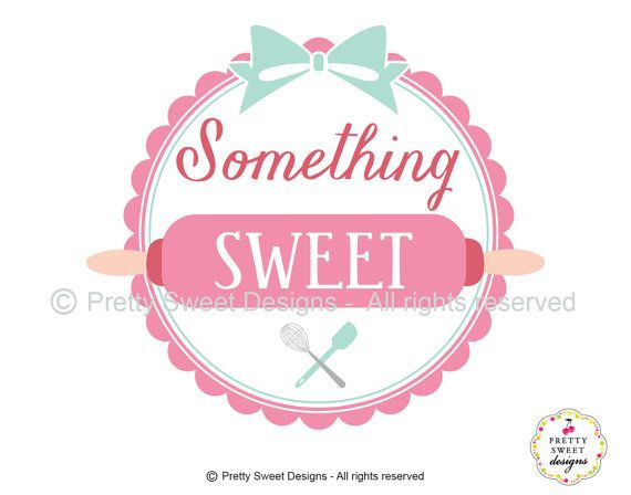 Custom bakery logo with rolling pin by ...