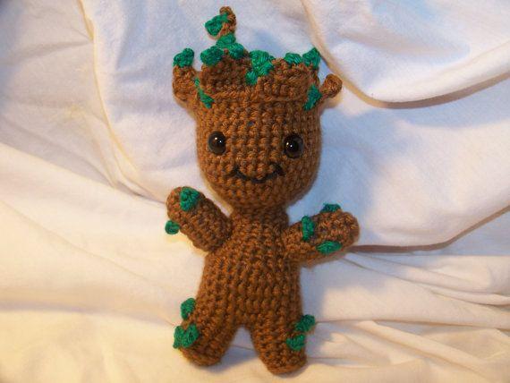 Amigurumi Patterns Groot : Crochet groot crochet amigurumi patterns and crocheted toys