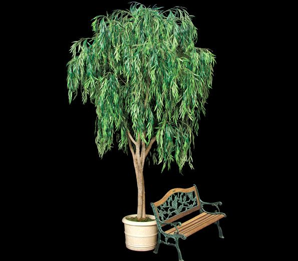 Artificial Weeping Willow Tree - Commercial Silk Int'l