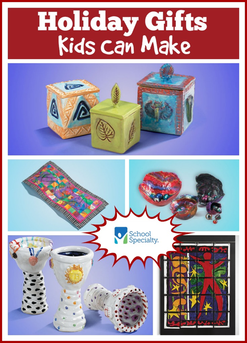 Beautiful Christmas Gift Ideas Kids Can Make Part - 12: 10 Holiday Gifts Kids Can Make