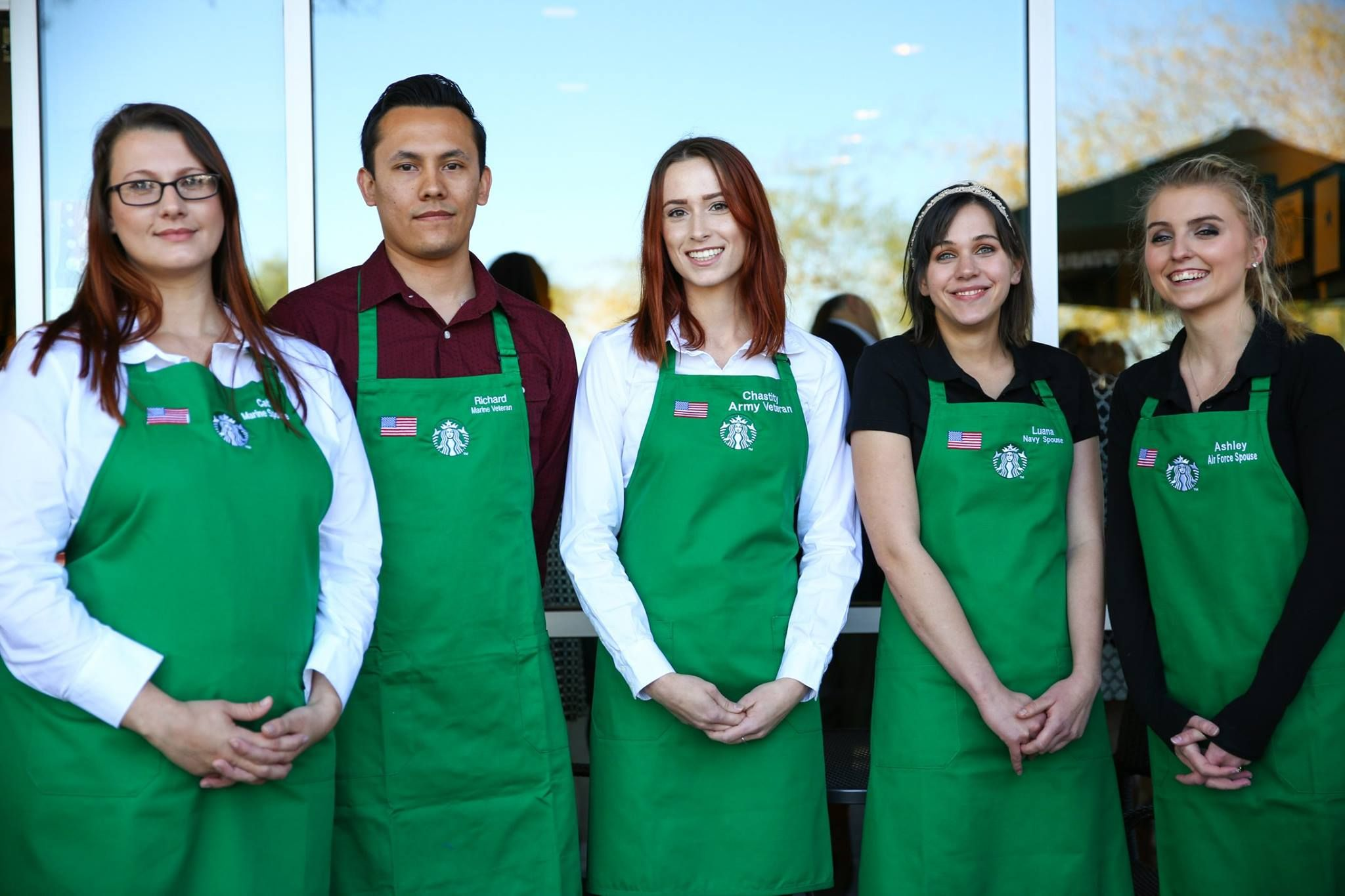 Starbucks Military Family Store Supports Military Spouses