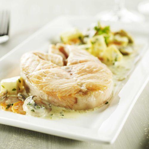 Saumon au champagne poissons fruits de mer et crustac s en cuisine sauce champagne recette - Cuisine au champagne ...