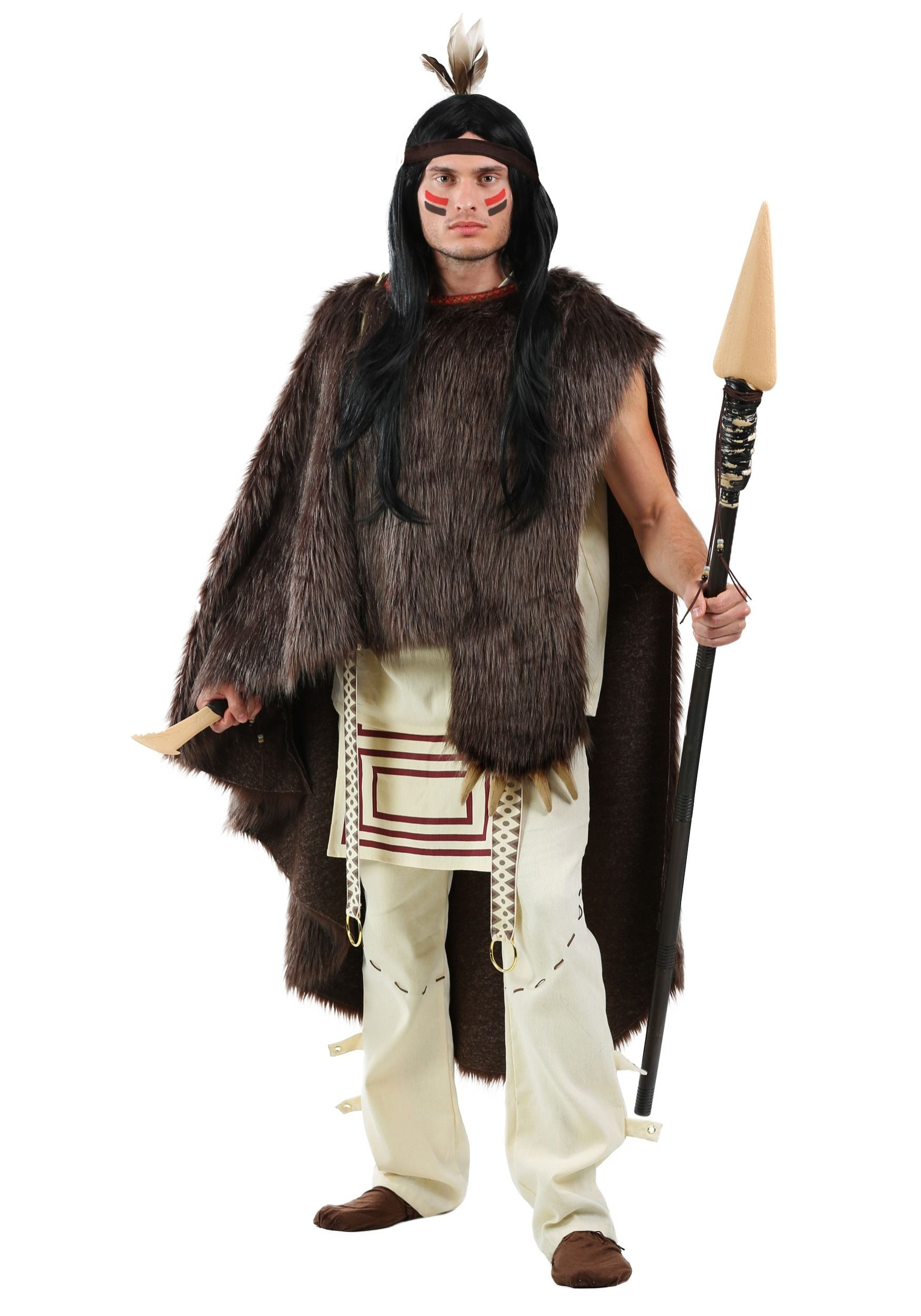 Deluxe Native Chief Mens Plus Size Costume | Plus Size Costumes ...