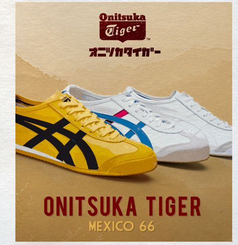 onitsuka tiger mexico 66 yellow blue quartz