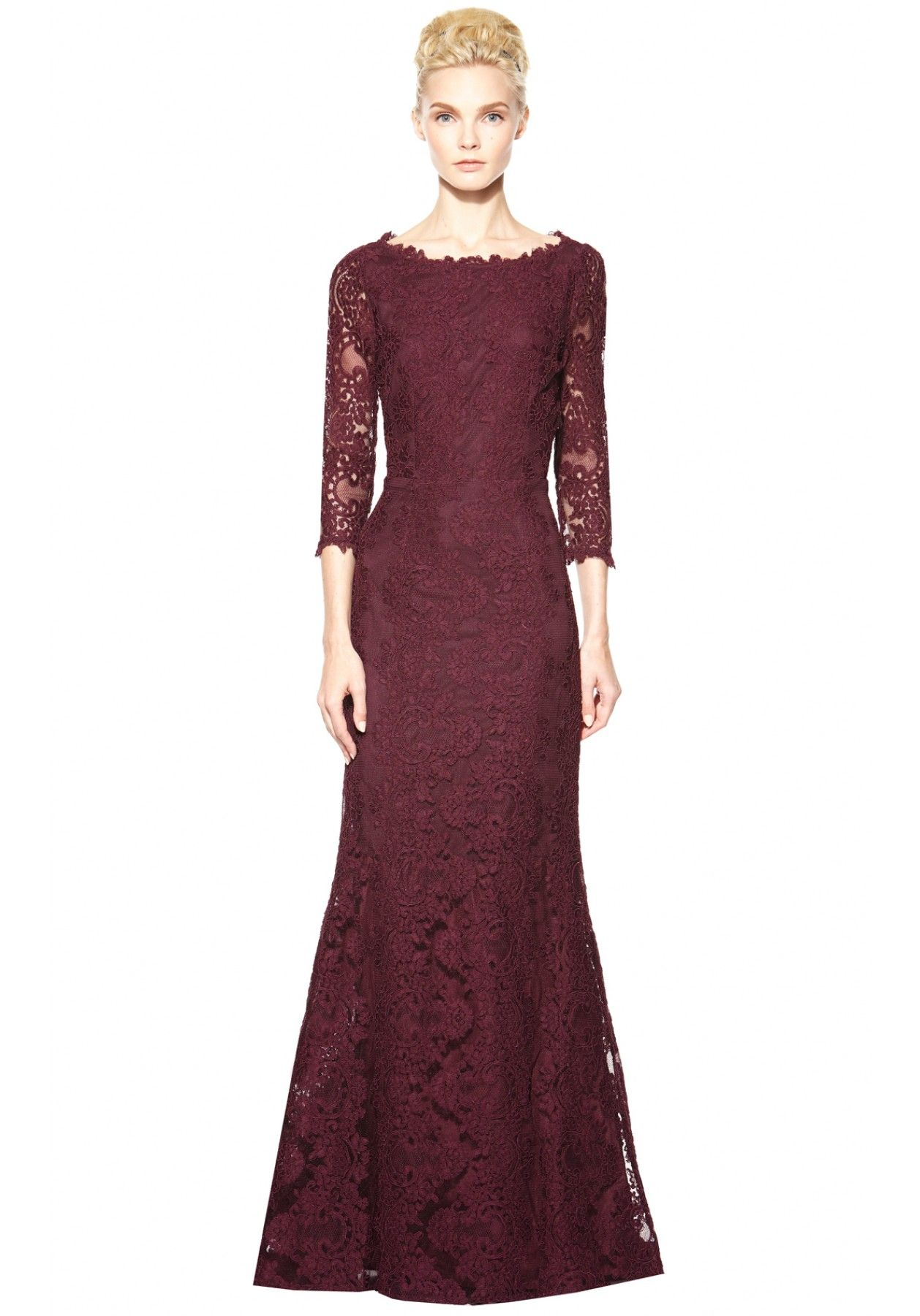Jae keyhole open back long gown alice olivia ideas for the