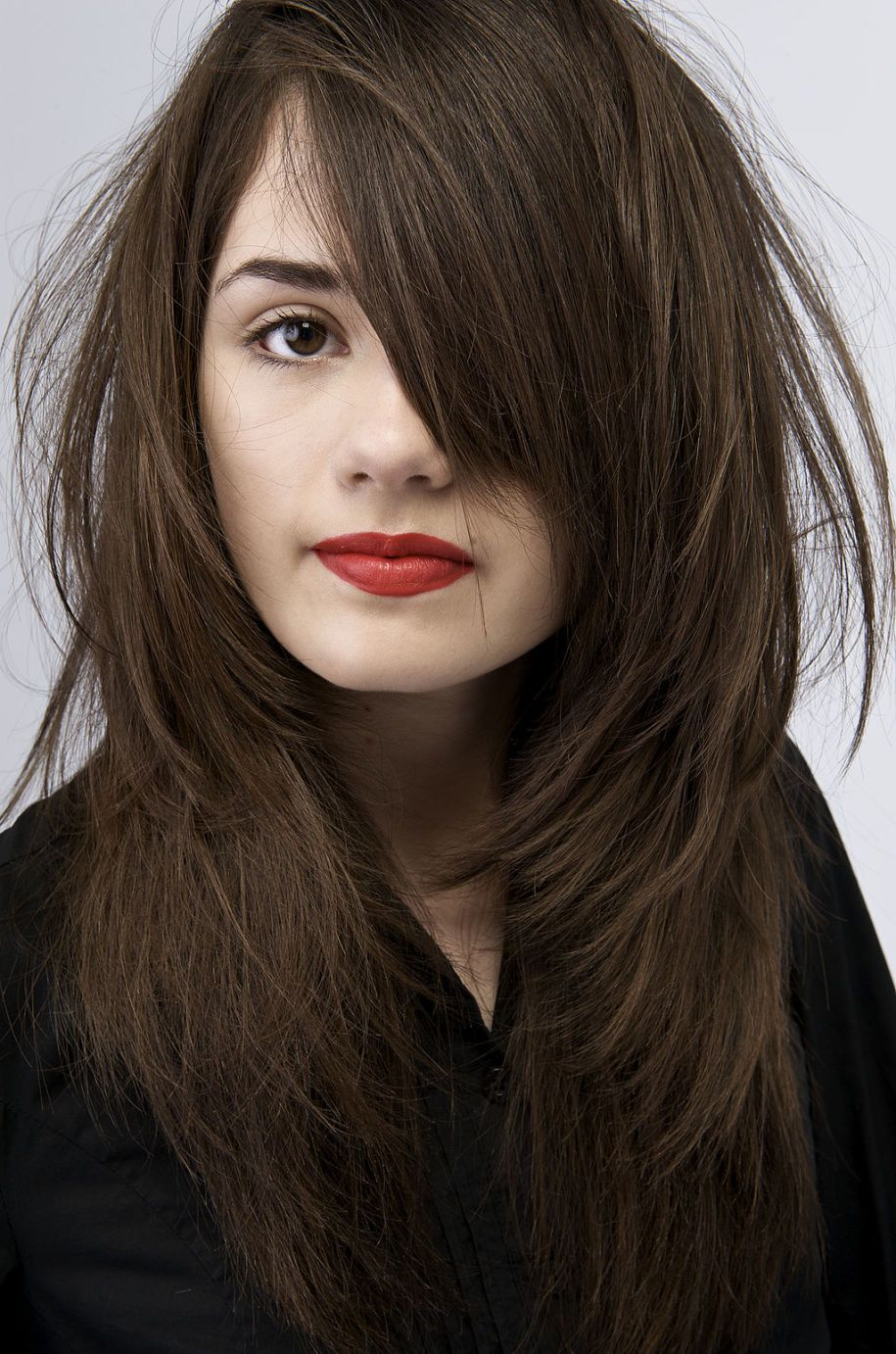 Mocha brown latest hair color trends dark chocolate brown