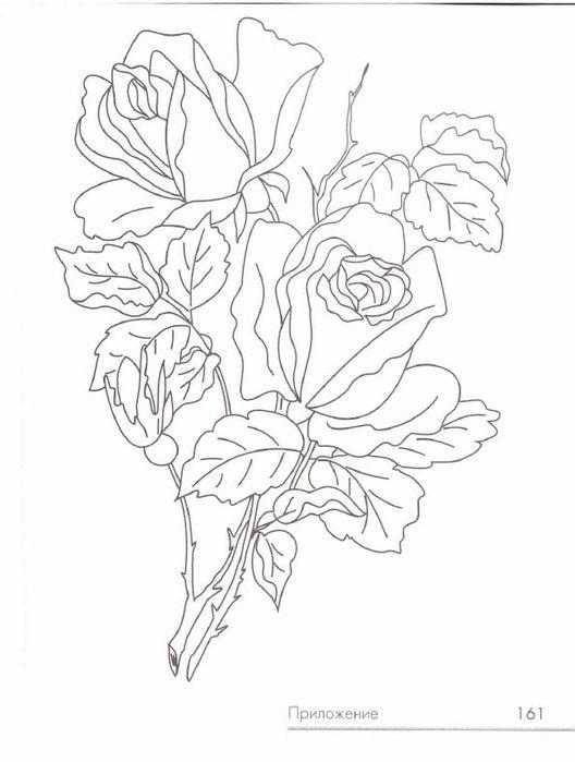 Gallery.ru / Фото #157 - Живописная вышивка гладью. Цветы и плоды - Vladikana