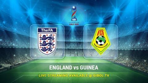 England U-17 vs Guinea U-17 (17 Oct 2015) Live Stream Links - Mobile streaming available