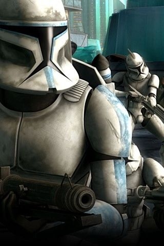 Storm Troopers Iphone Wallpaper Hd You Can Download This Free Iphone Wallpaper For Your Iphone 3g Ipho Star Wars The Old Star Wars Art Star Wars Clone Wars