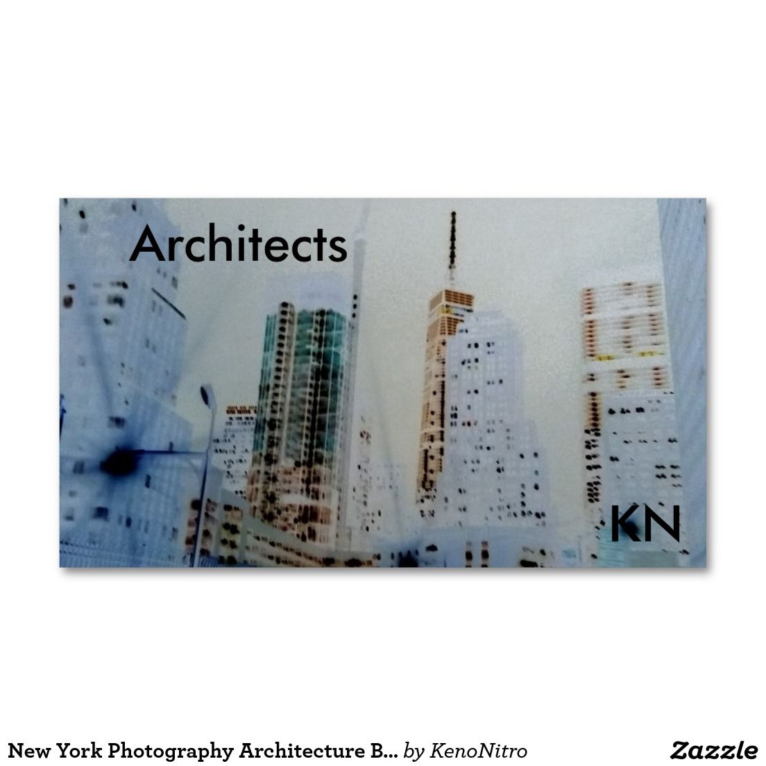 New York Photography Architecture Business Card   Zazzle Top ...