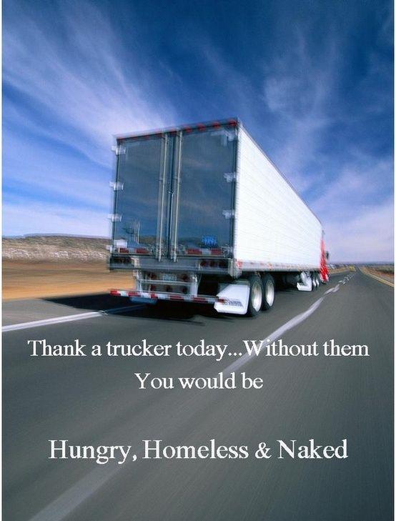 Thank A Trucker Www Crcint Com Trucks Trucker Quotes Truckers