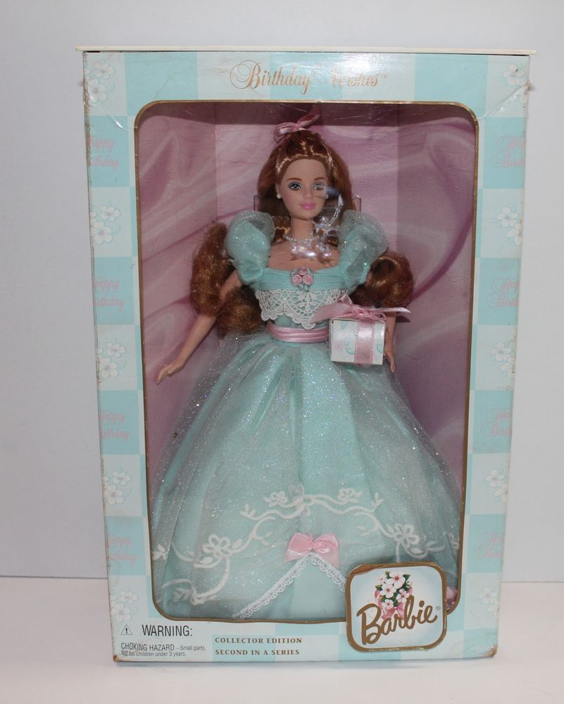 Birthday Wishes Barbie Collector Edition Second in Series