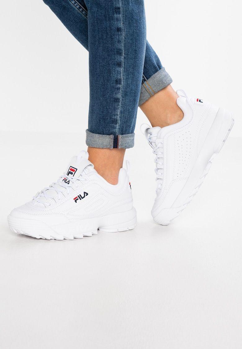 Disruptor Baskets Basses White Zalando Fr Sneaker Outfits Nike Schuhe Damen Sneakers Mode