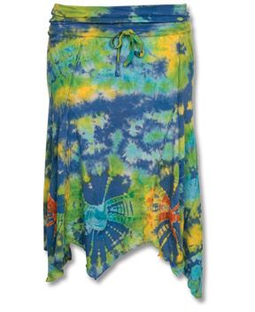 Soul Flower - SALE! Tie-Dye Fairy Skirt - $30.00