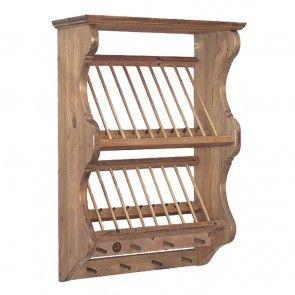 Dopubel Exmoor Small Plate Rack Somerset Pine Carpintaria