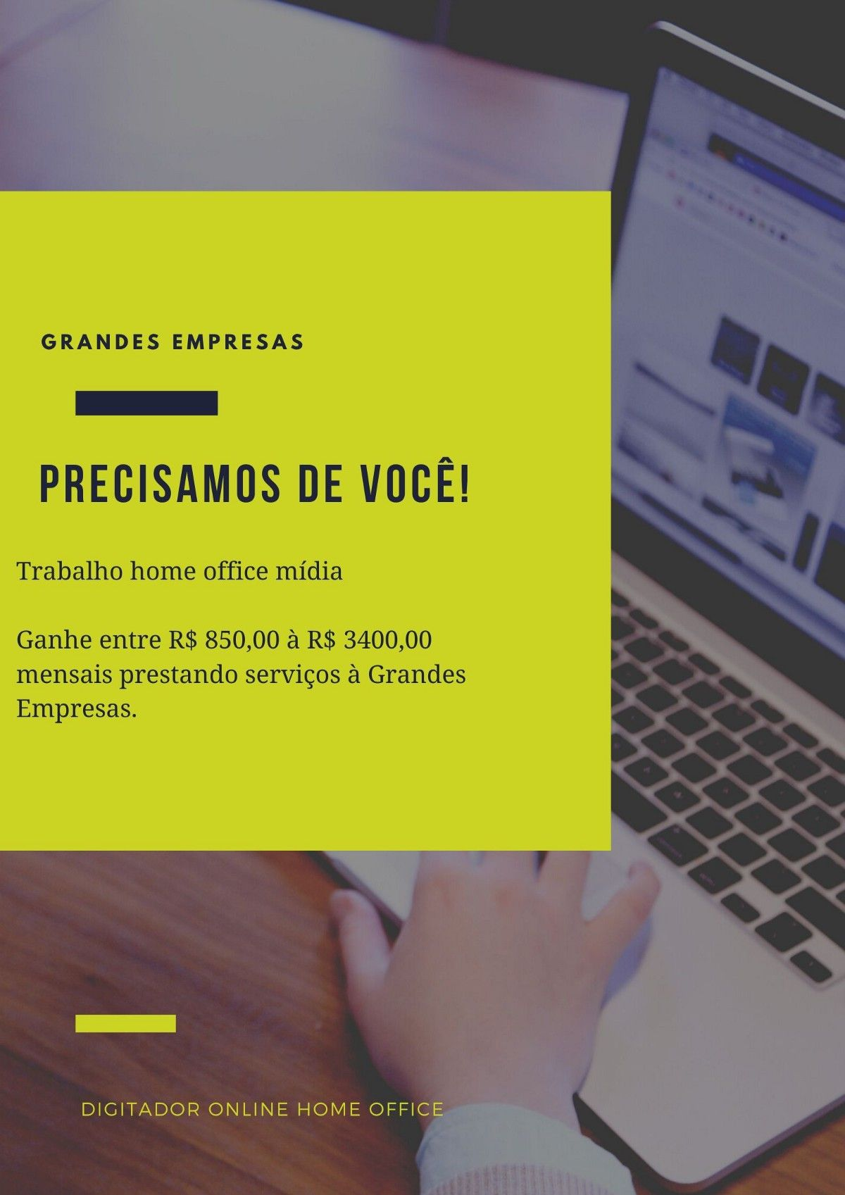 digitador de marketing online é seguro