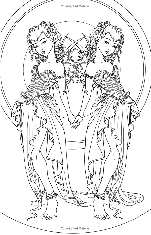 elves coloring pages images witch - photo#9