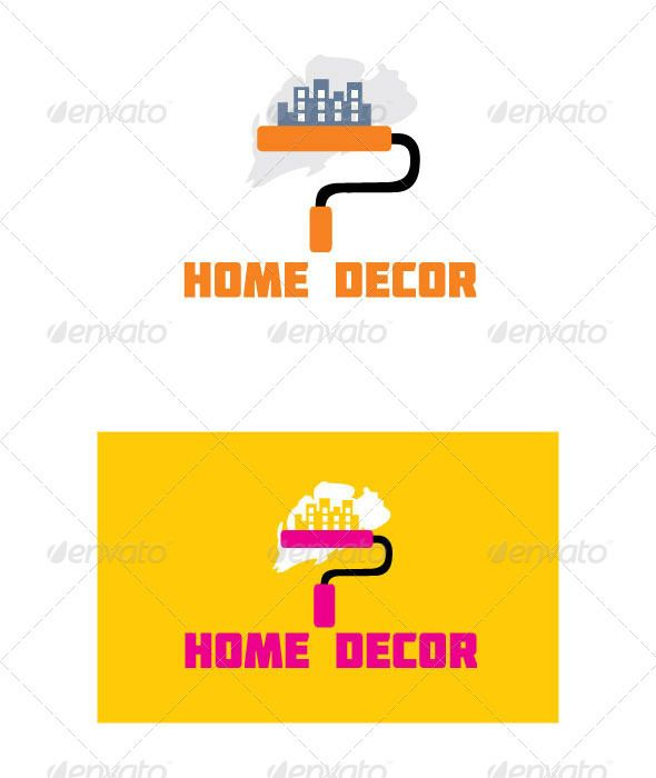 Home Decor By Surajkhatri Logo Home Decor Color Blue And Pink