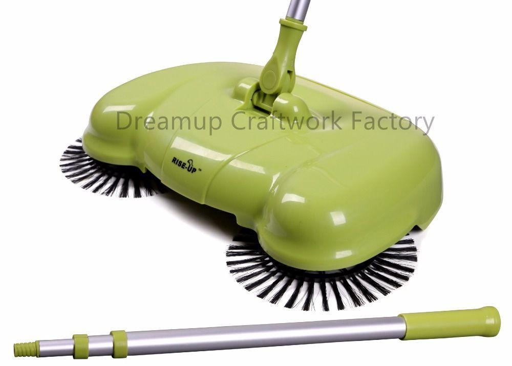 Latest Smart None Electric Vacuum Cleaner Broom Besmirchers Dustpan Set Automatic Sweeping Manual Brush Floor Sweepe Cleaning Mops Roller Brush Vacuum Cleaner