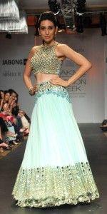 Summer Wedding Styles Karisma Kapoor at Lakme Fashion Week 2014