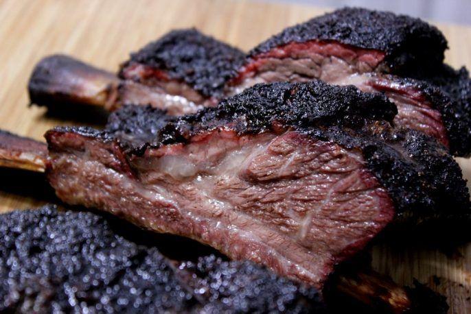 Smoked Beef Short Ribs Aka Dinosaur Ribs Recipe Smoked Beef Short Ribs Beef Short Ribs Smoked Beef