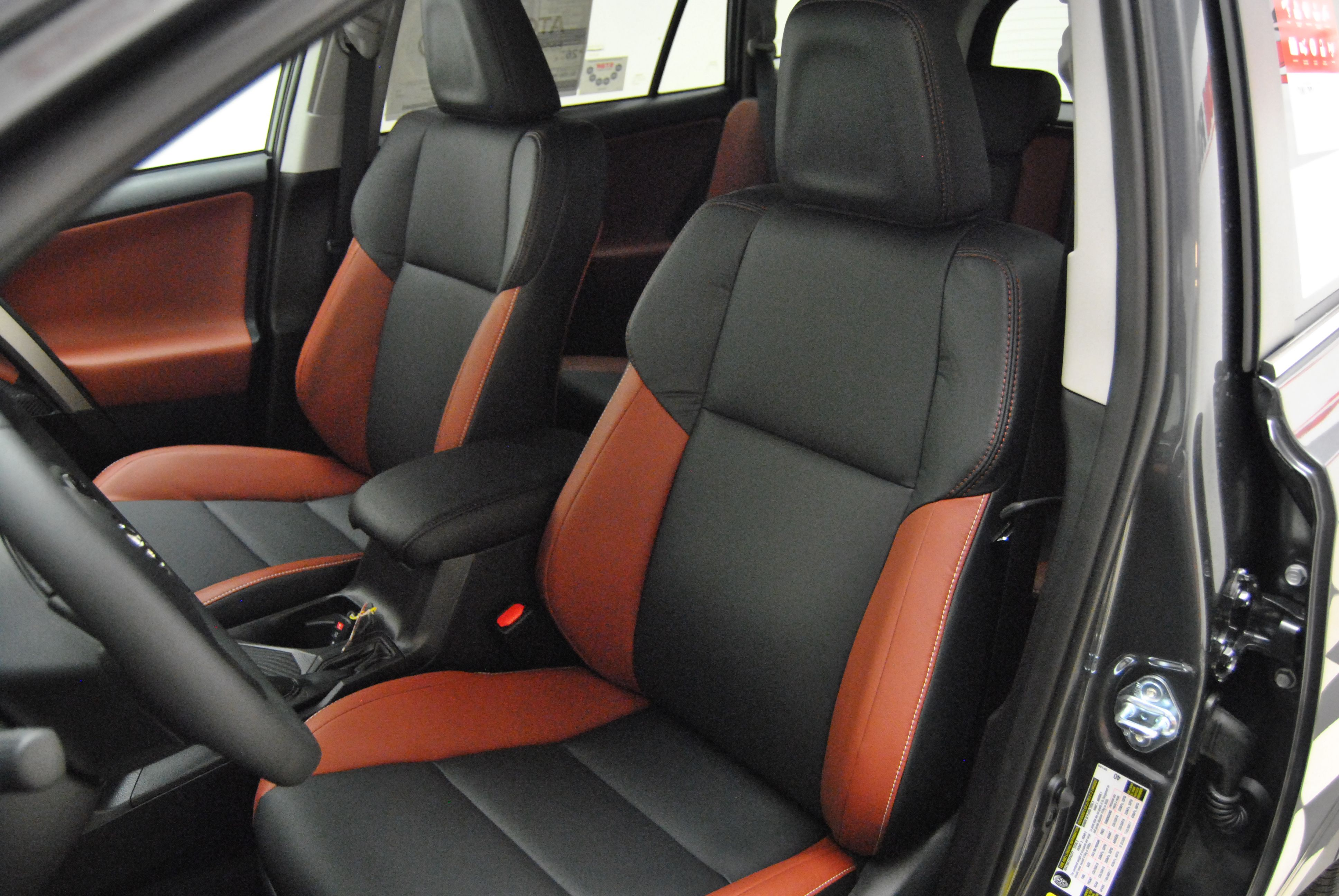 2015 Toyota Rav4 Limited Four Door Compact Suv With Two Tone Leather Interior At Milton Ruben